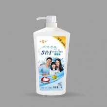 章华丝精蚕丝蛋白去屑顺滑洗发水1L